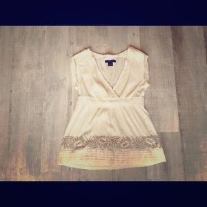 Cute Calvin Klein Top, worn one time only!